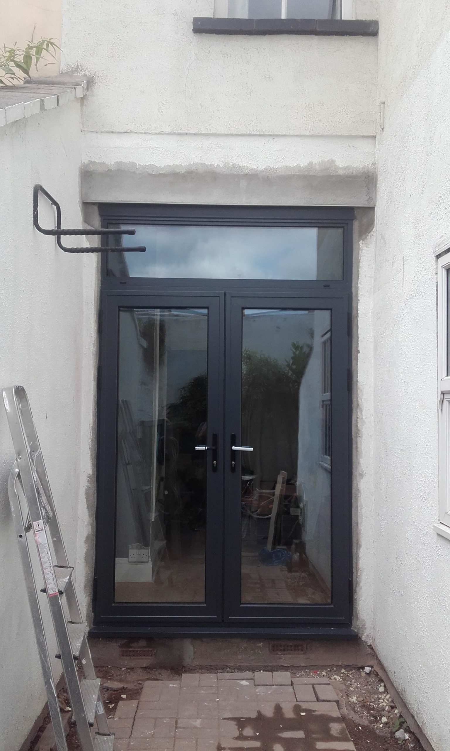 Anthracite Grey Aluminium Doors