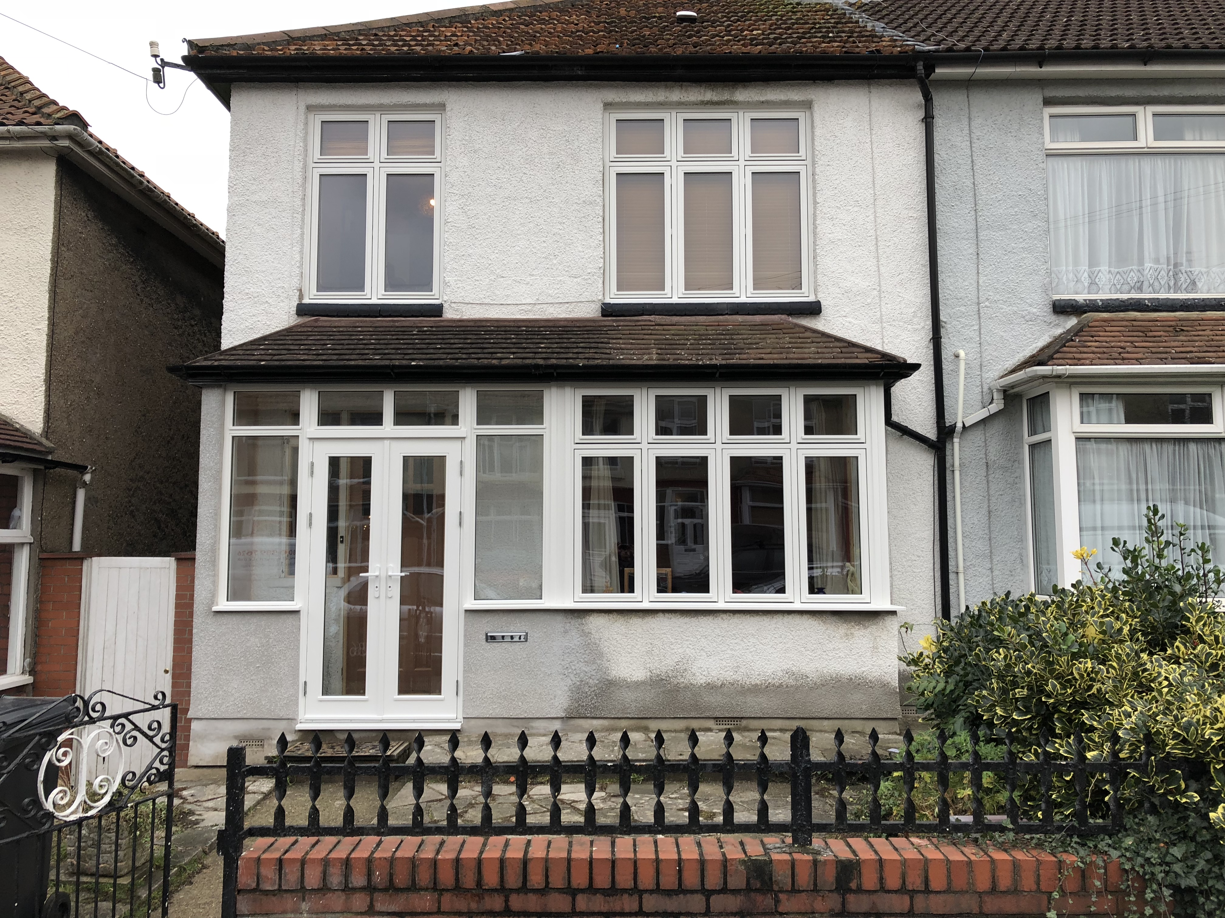choices timber flush windows and french door installation, with equal sightlines, and flush design.